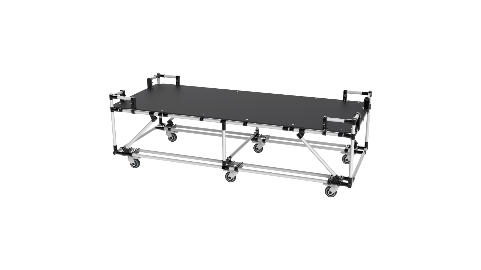 Lightning system - Trolley for the transport of pallets.